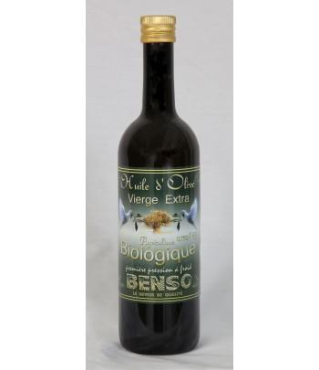 Huile d'olive biologique 75 cl